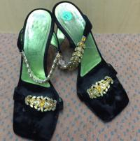Giuseppe Zanotti crystal encrusted high heel sanda