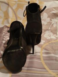 Black booties with studs  Angle2