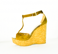 Jimmy Choo Platform sandal sz 9  Angle2