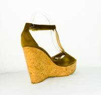 Jimmy Choo Platform sandal sz 9  Angle3