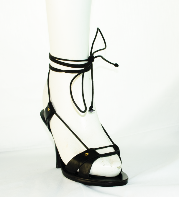 Chloe wooden and leather sandal - Runway!