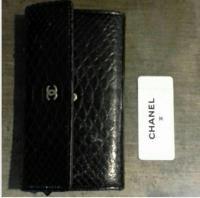 Python Chanel wallet Angle2