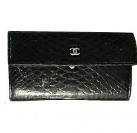 Python Chanel wallet
