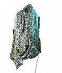Elizabeth and James Draped silk blouse - NWT Angle2