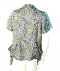 Elizabeth and James Draped silk blouse - NWT Angle3