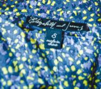 Elizabeth and James Draped silk blouse - NWT Angle4