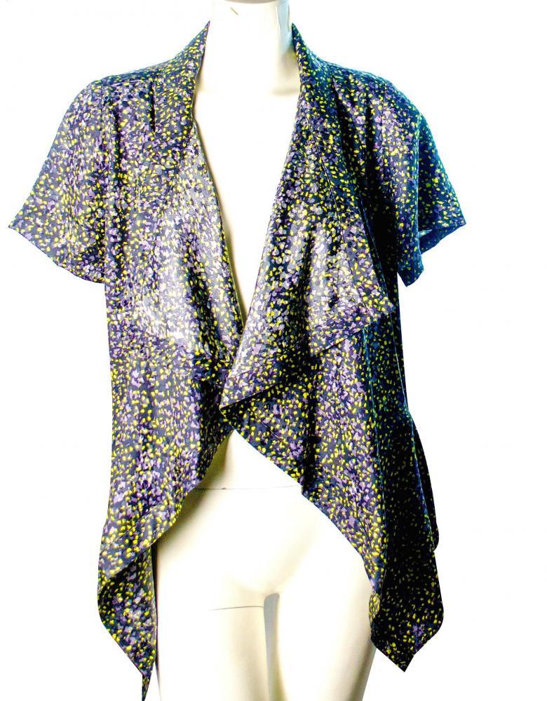Elizabeth and James Draped silk blouse - NWT