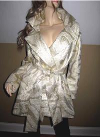 Yigal Azroel Wool and metallic jacket. Like New