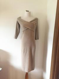 Ralph Lauren Black Label Cashmere Dress Angle2