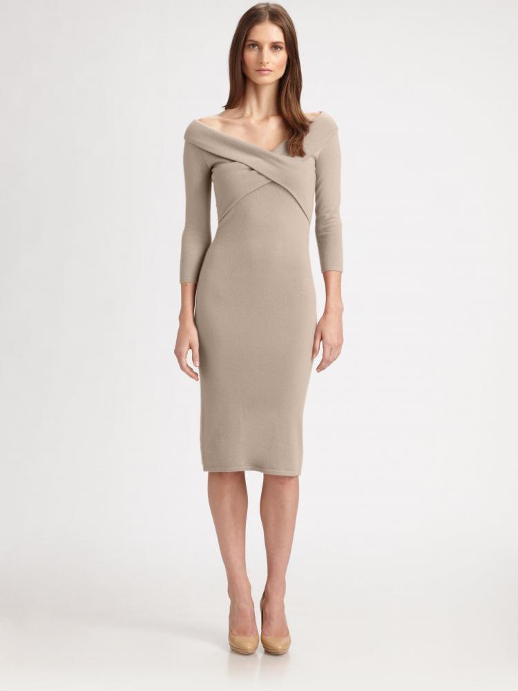 Ralph Lauren Black Label Cashmere Dress