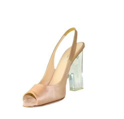 Beautiful Satin Prada Platform heels