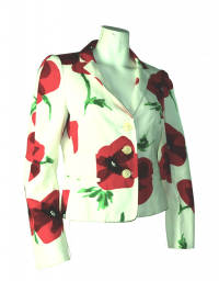 Moschino Cheap and Chic floral jacket
