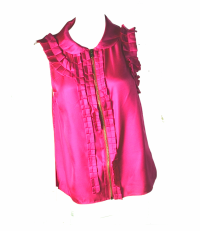 Pink satin Marc Jacobs blouse
