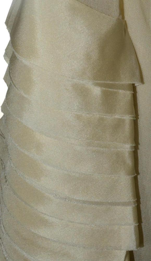 Phillip Lim Shear ruffle dress