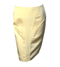 Silk Catherine Malandrino skirt with racer lines