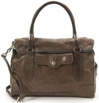 Leather Top Handle Tote -REBECCA MINKOFF