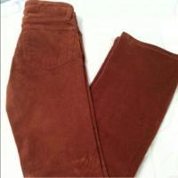 J Brand Burnt Orange Corduroy Jeans 24 Angle3