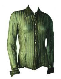 Alberta Ferreti shear blouse