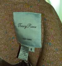 Tracy reese three bow tweed blazer Angle4