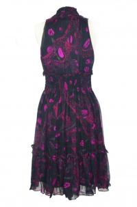 DVF front tie dress Angle2