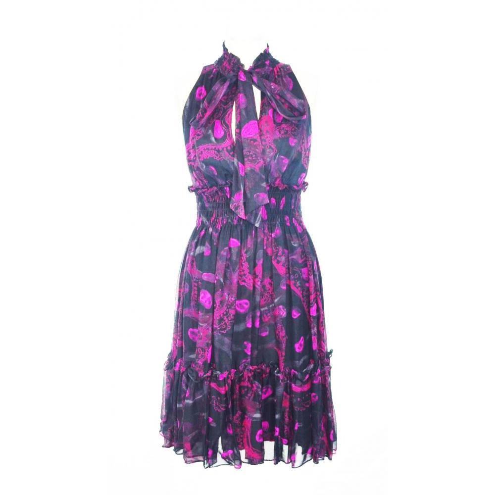 DVF front tie dress