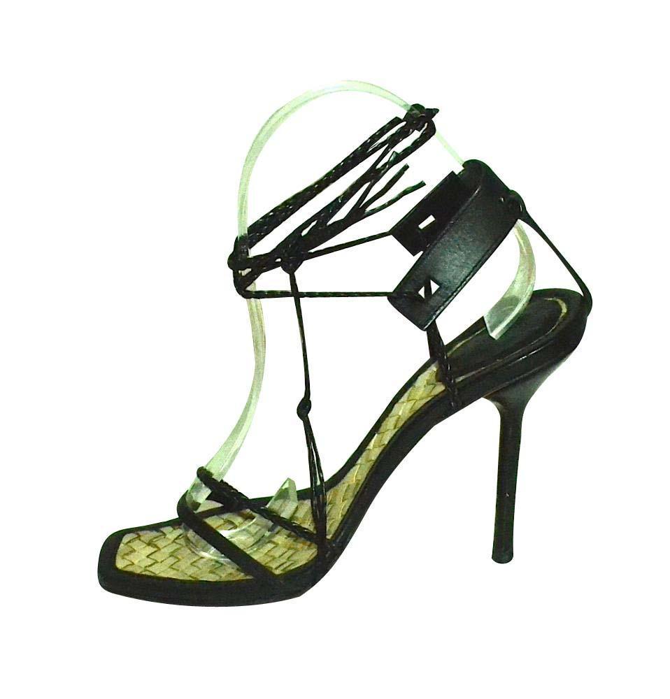 Strappy gucci heels