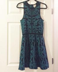 Fitted and flare Parker Dress Angle2