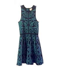 Fitted and flare Parker Dress Angle1