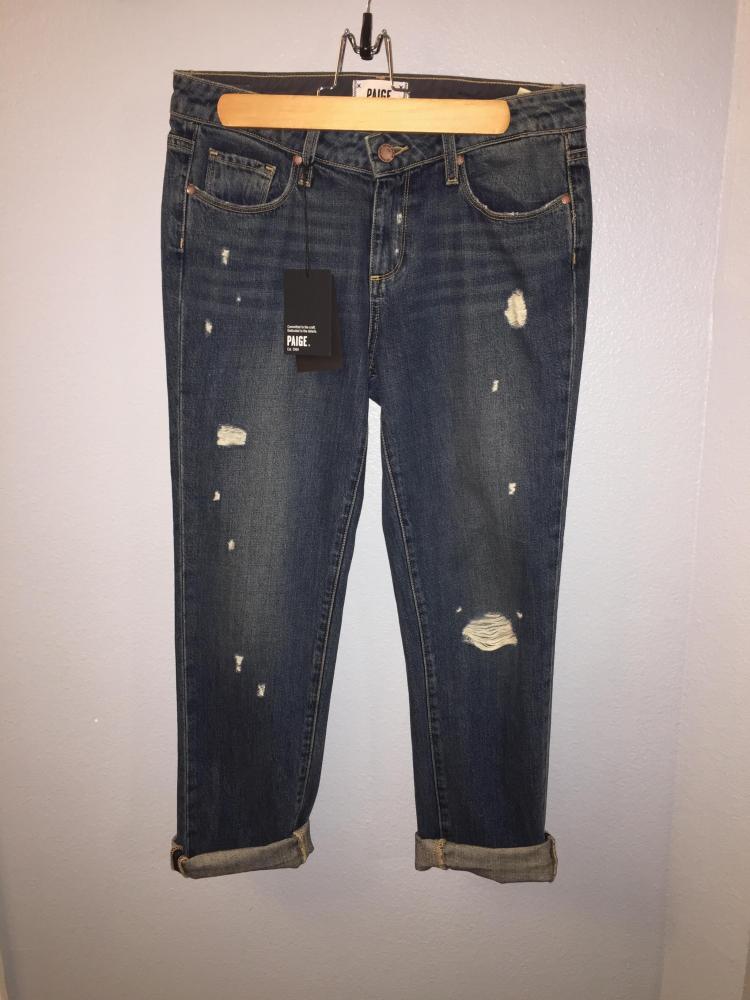 PAige Porter Midrise BF jeans sz 25