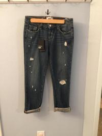 PAige Porter Midrise BF jeans sz 25 Angle2