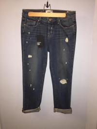 PAige Porter Midrise BF jeans sz 25 Angle3