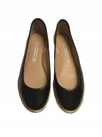 DVF Leather Flats size 5.5