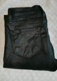 Paige waxed jeans black sz. 26 Angle3