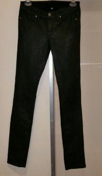 Paige waxed jeans black sz. 26 Angle5