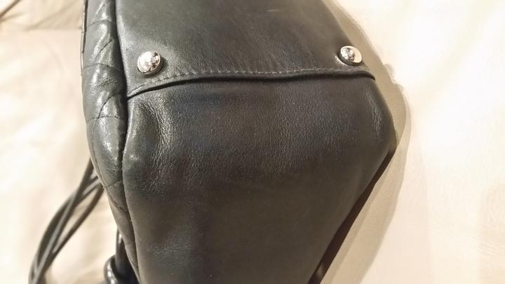 Chanel large Ligne Cambon Flap Bag- Calfskin Black