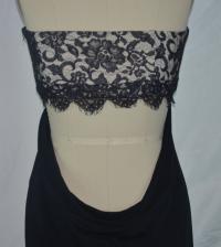 Marchesa very low cut drape Angle3