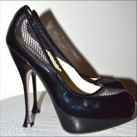Brian Atwood Black Pumps Angle3