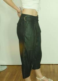 3.1 Phillip Liam black trouser capris Angle3