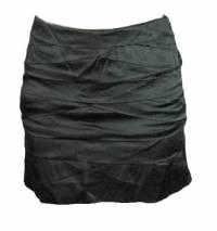 Diane Von Furstenberg black layered skirt