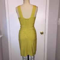 Lime Herve leger bandage dress Angle3