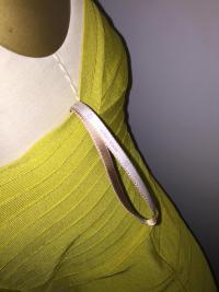 Lime Herve leger bandage dress Angle5