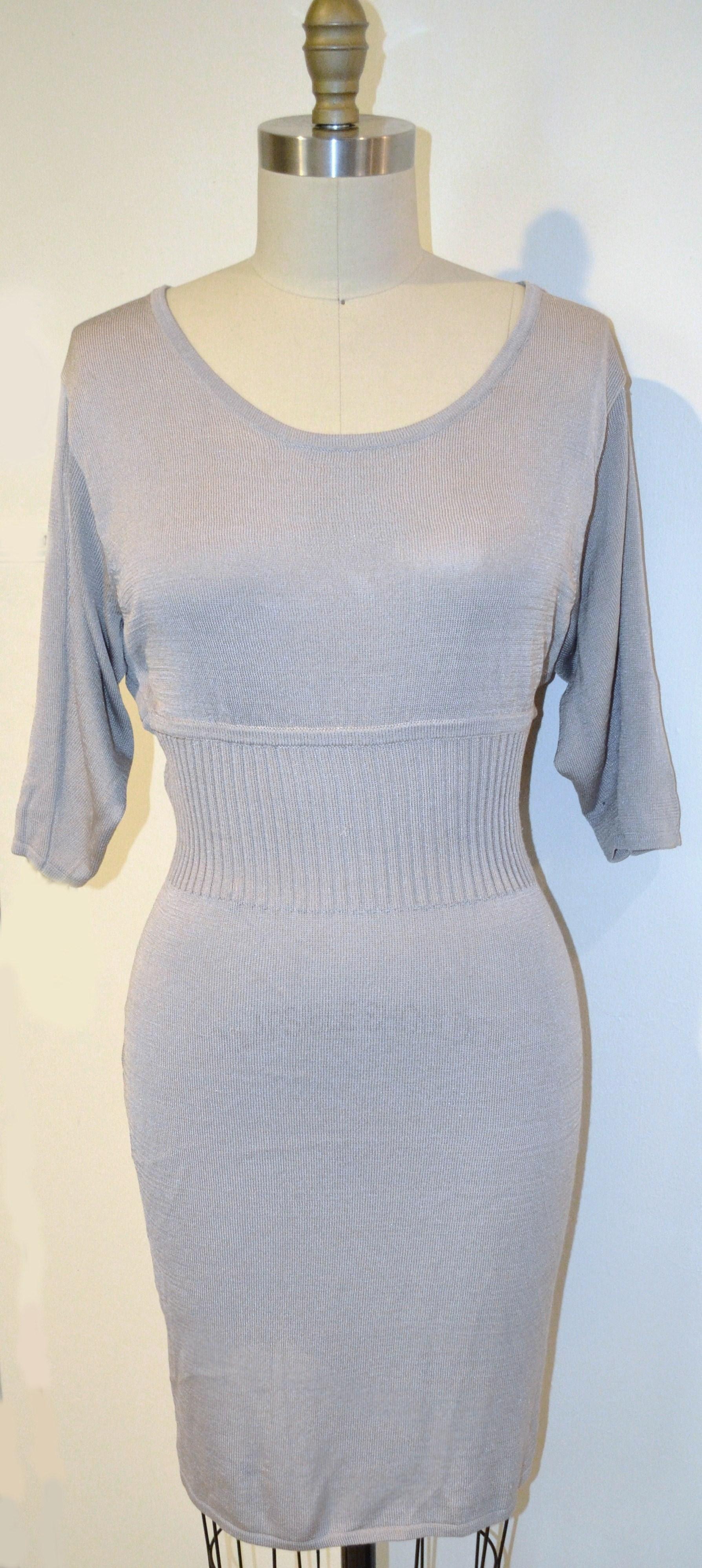 Jill Stuart Gray Knee Dress