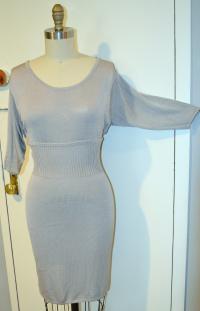 Jill Stuart Gray Knee Dress Angle3