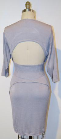 Jill Stuart Gray Knee Dress Angle4