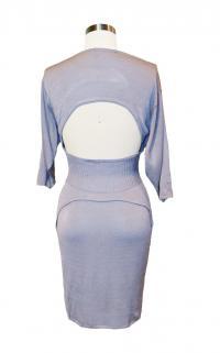 Jill Stuart Gray Knee Dress Angle1