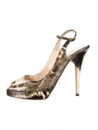 patent leather Jimmy Choo square-open-toe slingbac