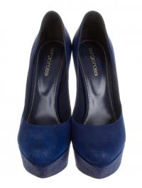 suede Sergio Rossi pointed-toe pumps Angle2