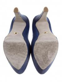 suede Sergio Rossi pointed-toe pumps Angle4