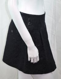 Barbara Bui Black Skirt Angle2