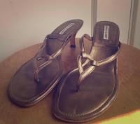 Manolo Blahnik Heel Sandal